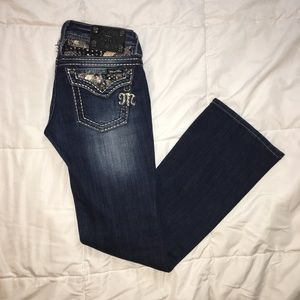 Miss Me Bootcut Dark Wash Jeans